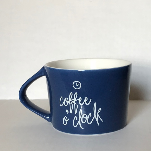 "Threshold target ""coffee o clock"" mug"